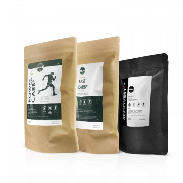 WETTKAMPF BUNDLE 2 mit POWER CARB, FAST CARB und RECOVERY 8