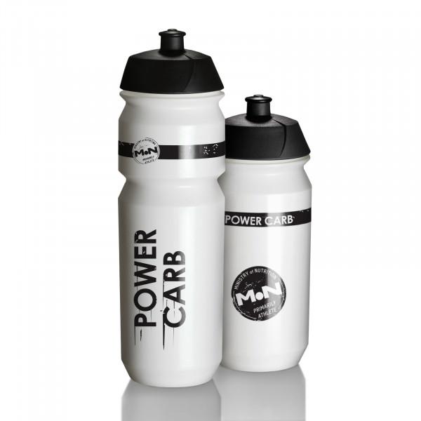SET weiße Trinkflaschen Shiva Bio – 500ml und 750ml